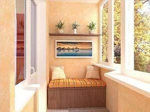 окно с балкона