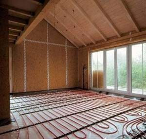 металлопластиковые окна и теплый электрический пол