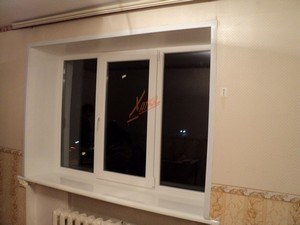 металлопластиковые окна в квартире 1